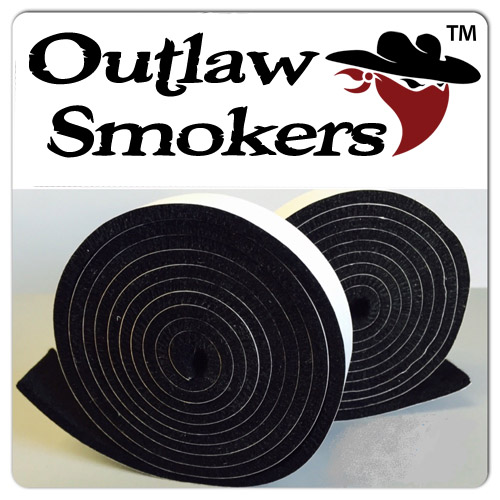 BBQ Lid Gasket Material for Outlaw Smokers